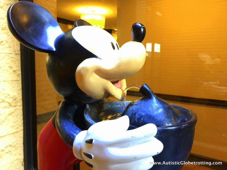 The Autism Friendly Sheraton Park at Anaheim Resort mickey