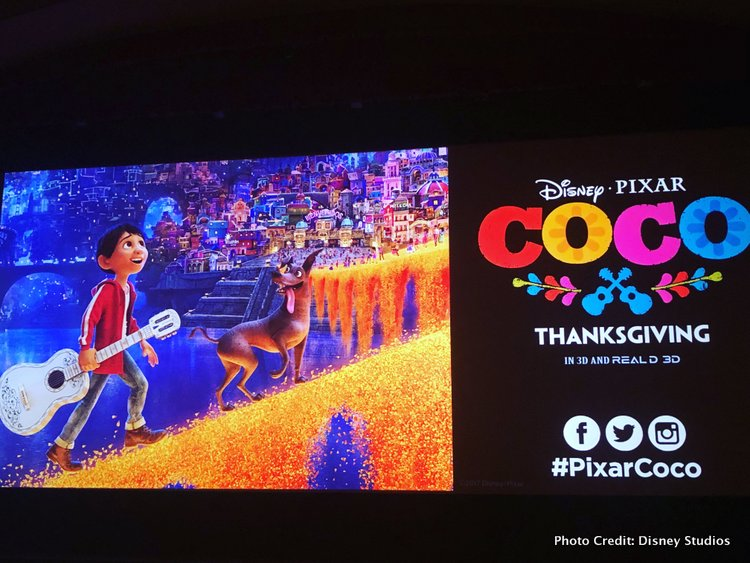 Pixar's Coco Press Junket highlights Mexico's Family Traditions poster