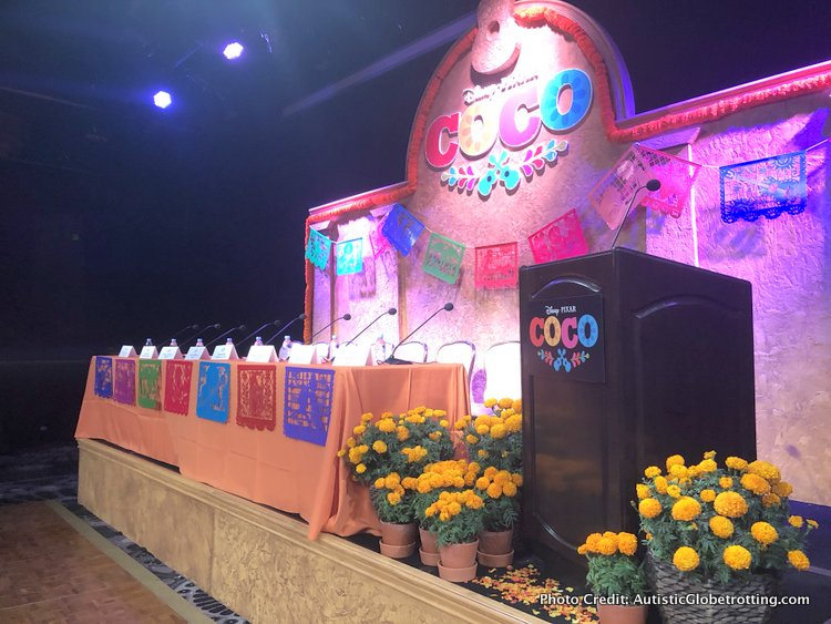 Pixar's Coco Press Junket highlights Mexico's Family Traditions celeb table