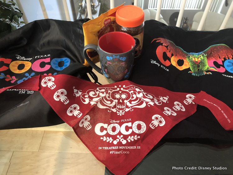 Pixar's Coco Press Junket highlights Mexico's Family Traditions merchandise