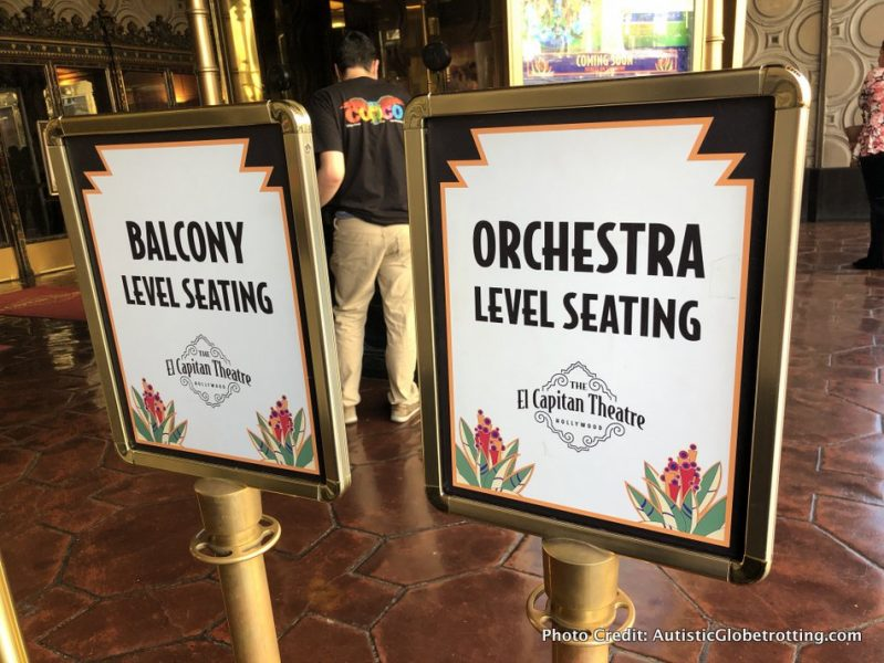 Visiting Hollywood's iconic El Capitan Theatre with Kids tickets