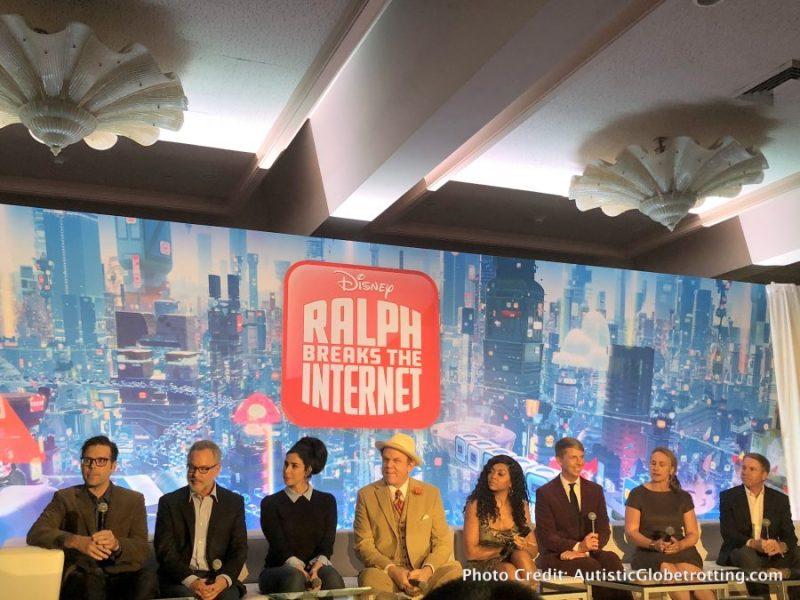 Ralph Breaks the Internet Press Junket: 8 Takeaway Highlights creators and cast