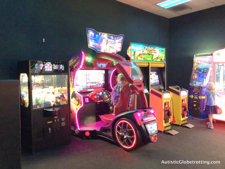 Family Friendly Fairfield Inn Anaheim kid arcade
