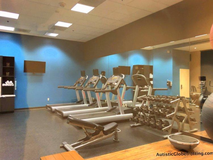 Family Friendly Fairfield Inn Anaheim cardio machines