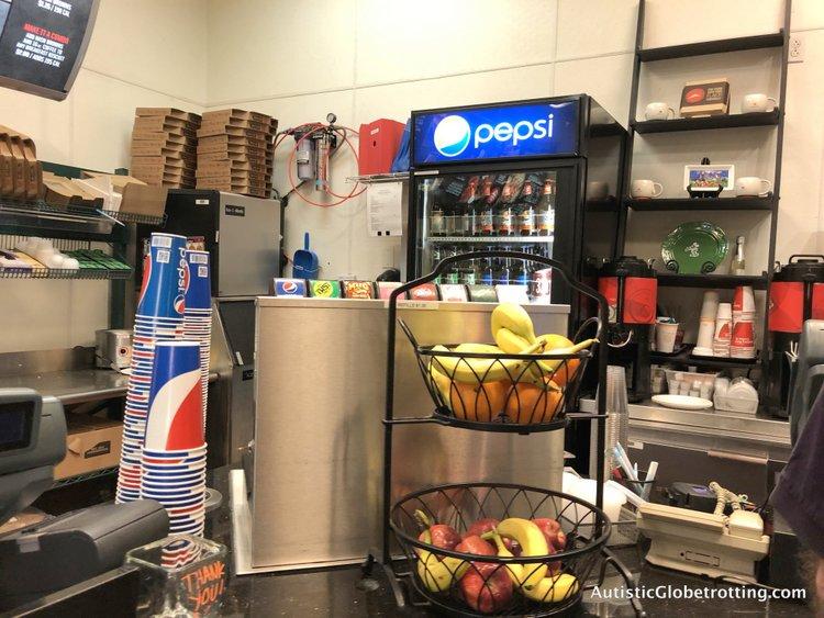 Family Friendly Fairfield Inn Anaheim coffee area