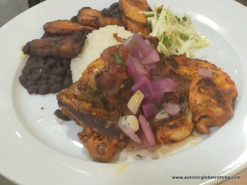 Yucatan Cuisine at Chichen Itza Restaurant ,Los Angeles entree
