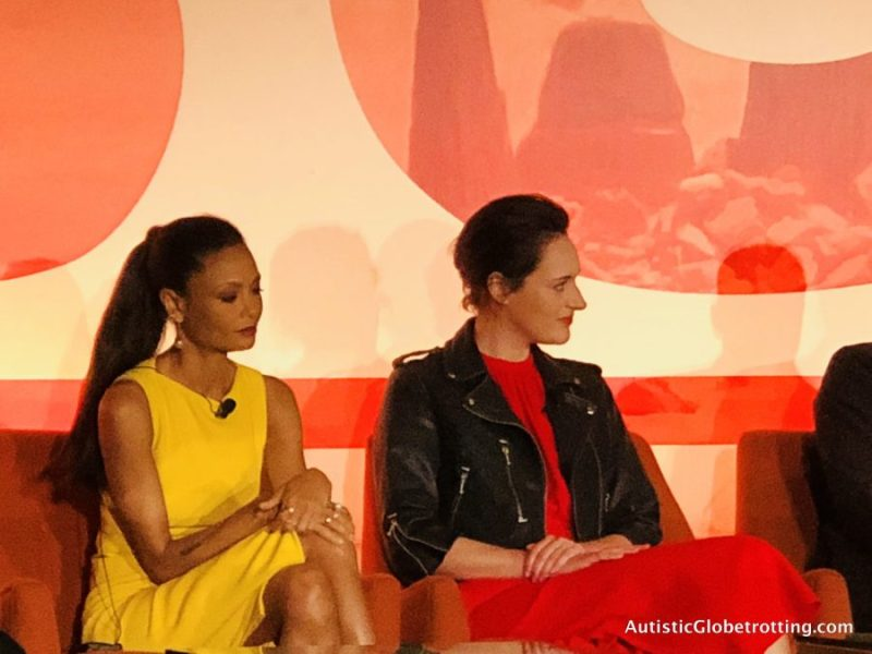 Solo Press Junket:The Resurrection of a Popular Hero thandie and phoebe