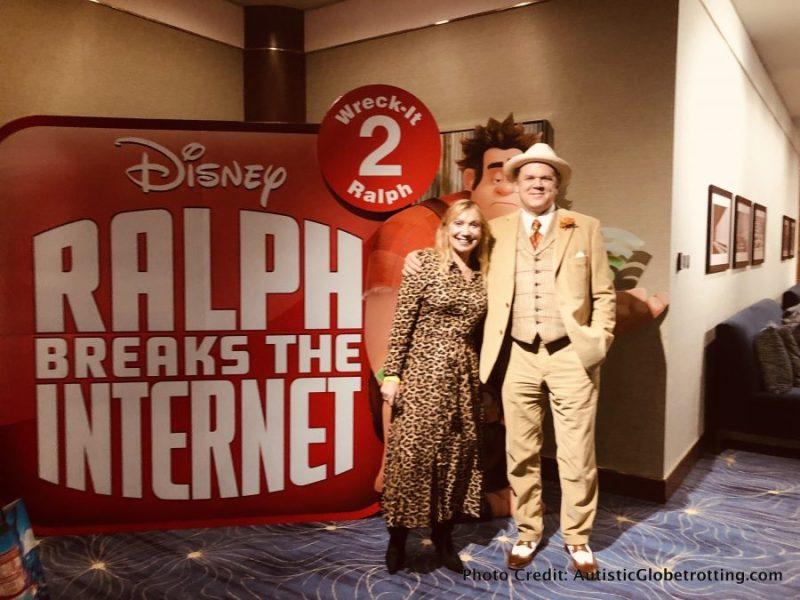 Ralph Breaks the Internet Press Junket: 8 Takeaway Highlights selfie with Ralph