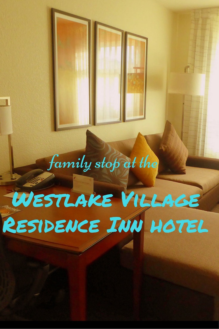 Family Stop at the Westlake Village Residence Inn Hotel pin