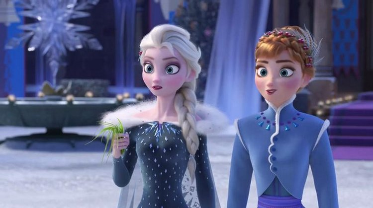 3 Magical Ways Olaf's Frozen Adventure will Melt your Hearts sisters diemma