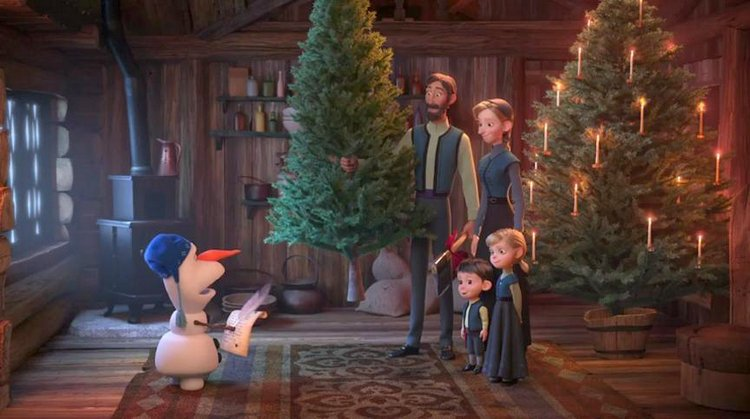 3 Magical Ways Olaf's Frozen Adventure will Melt your Hearts christmas tree