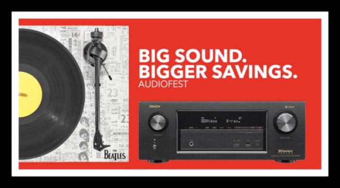 best buy magnolia audiofest subwoofer red poster