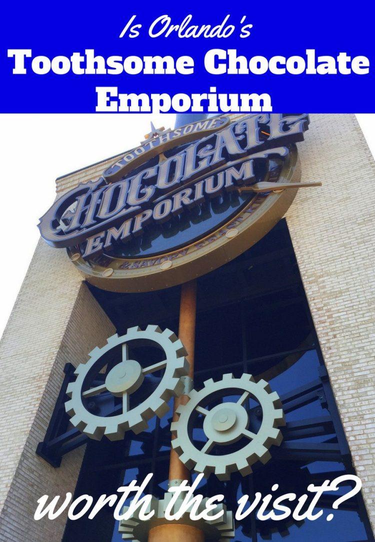 Orlando's Toothsome Chocolate Emporium & Savory Feast Kitchen