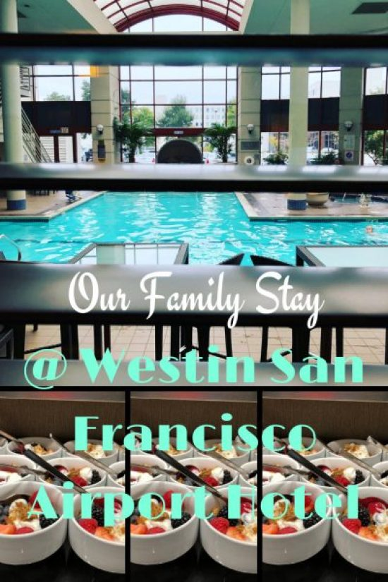 Our Family Stay westin SFO pin