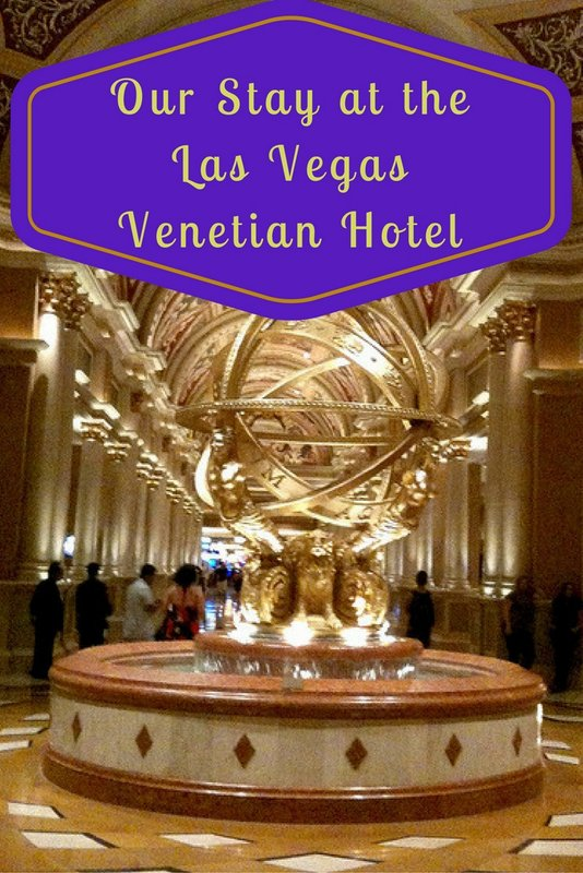 Our Stay at the Las Vegas Venetian Hotel pin