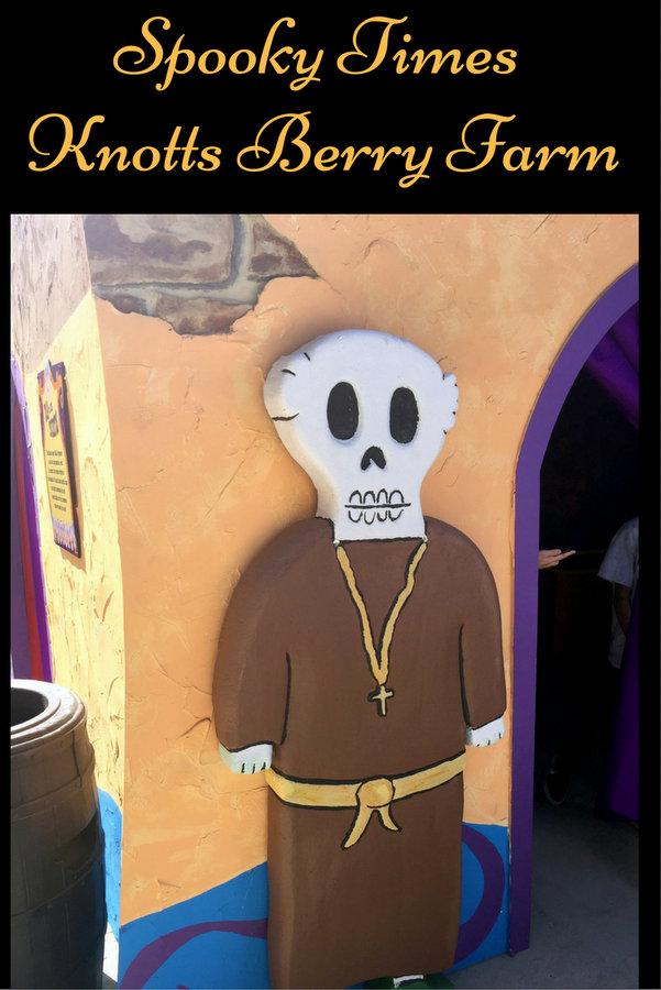 Spooky times at Knotts spookyfarm pin