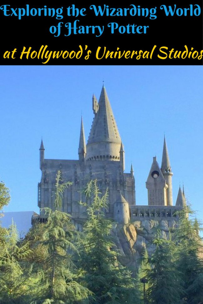 Exploring the Wizarding World of Harry Potter at Hollywood's Universal Studios pin