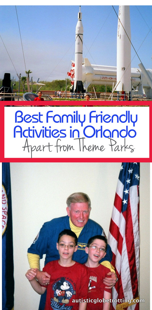 Best Family Friendly Activities in Orlando Apart from Theme Parks pin