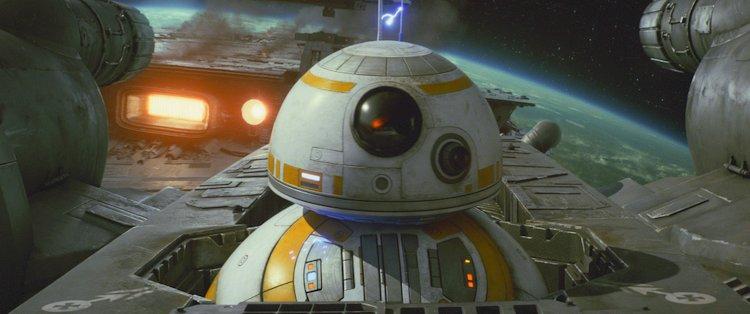 THe last jedi droid