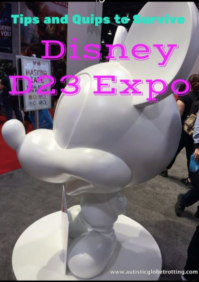 Tips and Quips to Survive the Disney D23 Expo pin