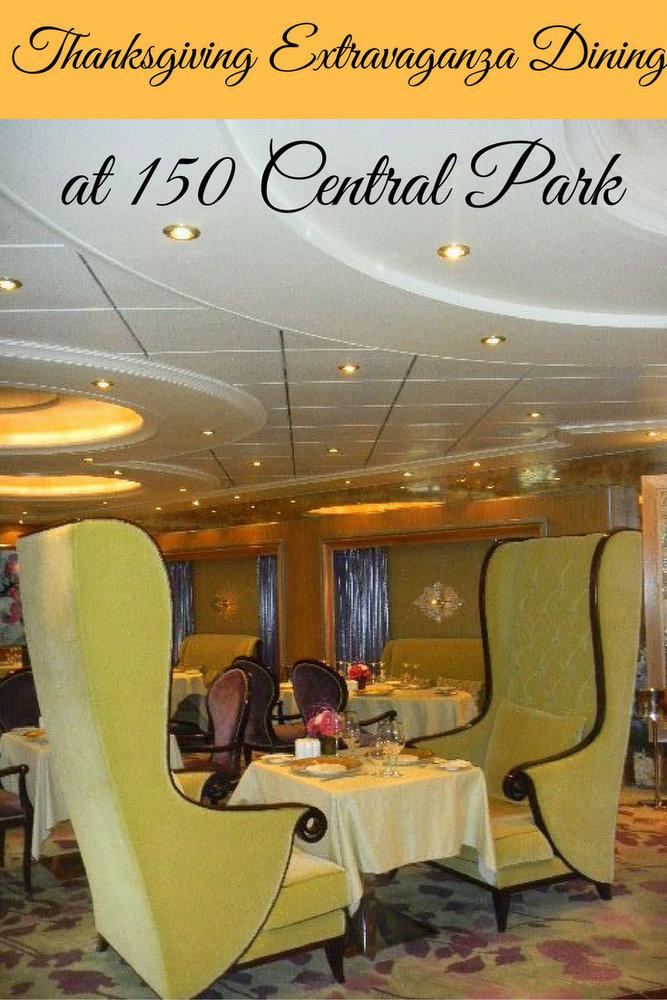 Thanksgiving Extravaganza Dining at 150 Central Park pin