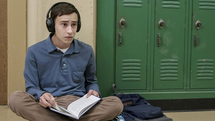 Is Netflix's Atypical Series Depicting Life with Autism accurately? sam sitting