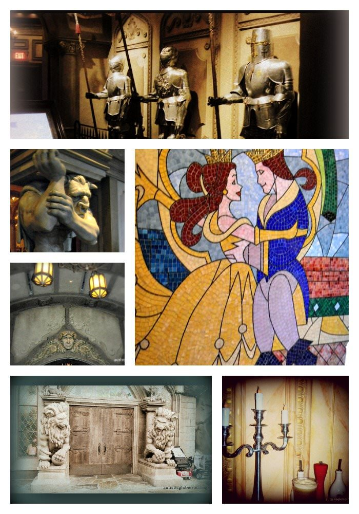 Disney's 'Be Our Guest' Restaurant knights