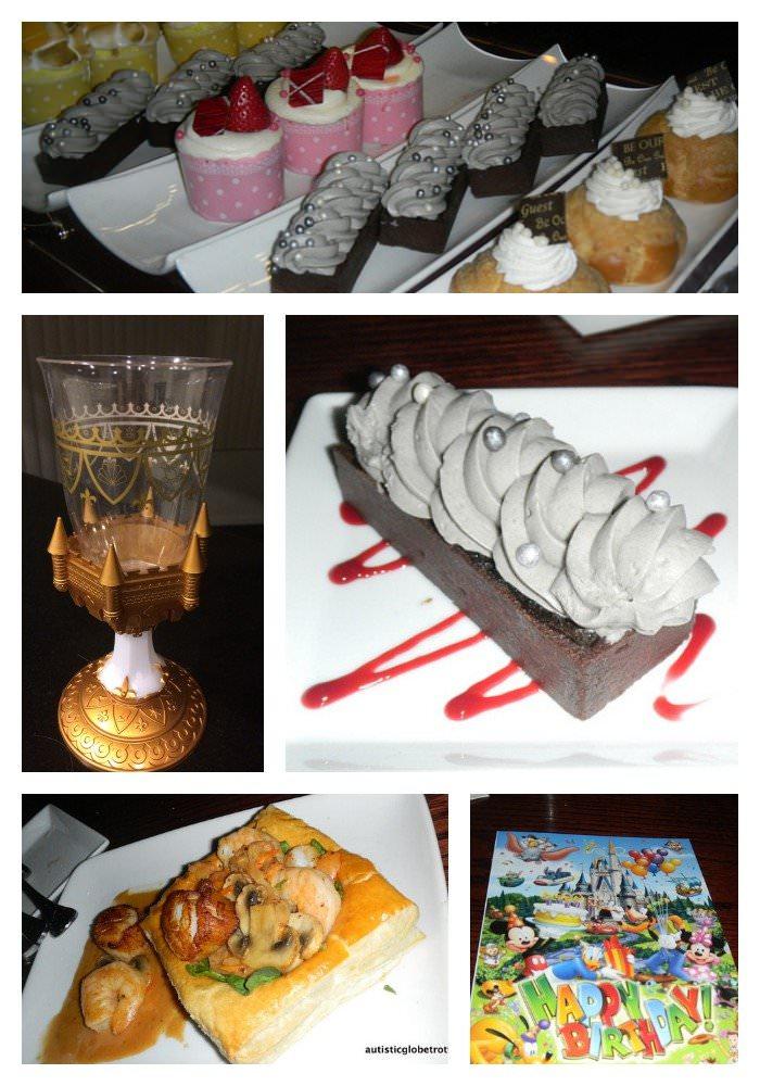 Disney's 'Be Our Guest' Restaurant dessert