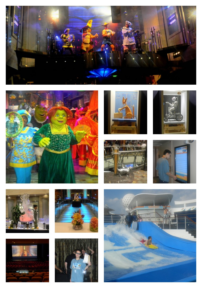 Four concepts we enjoyed on Royal Caribbean's Freedom of the Seas collage entertainment