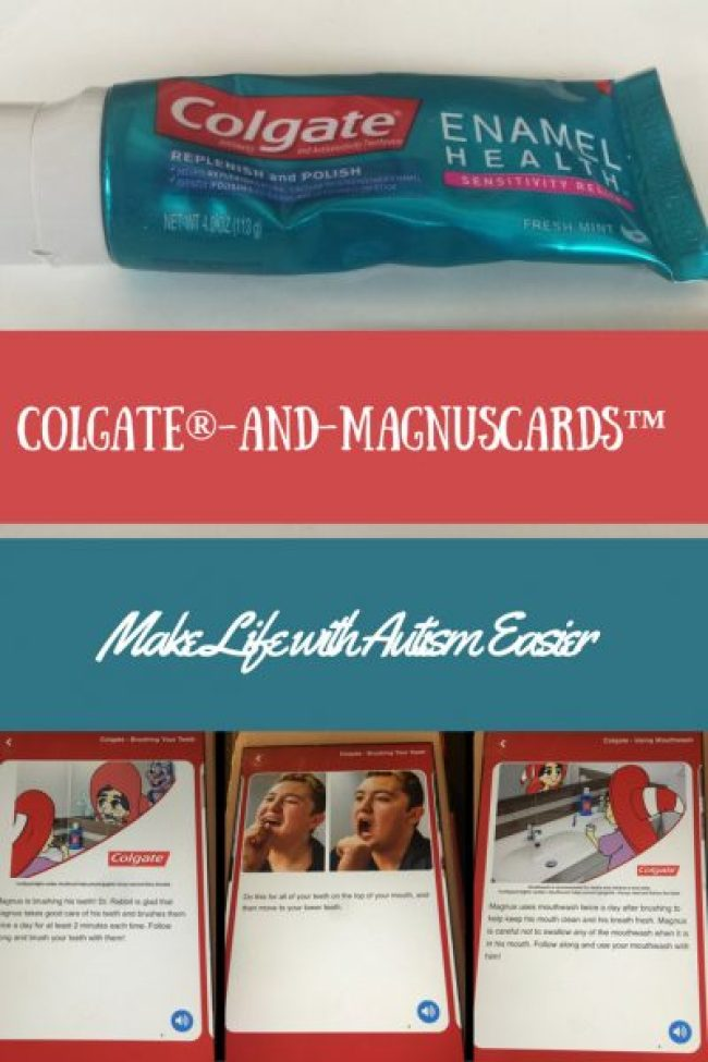 Colgate® and MagnusCards™ Make Life with Autism Easier pin