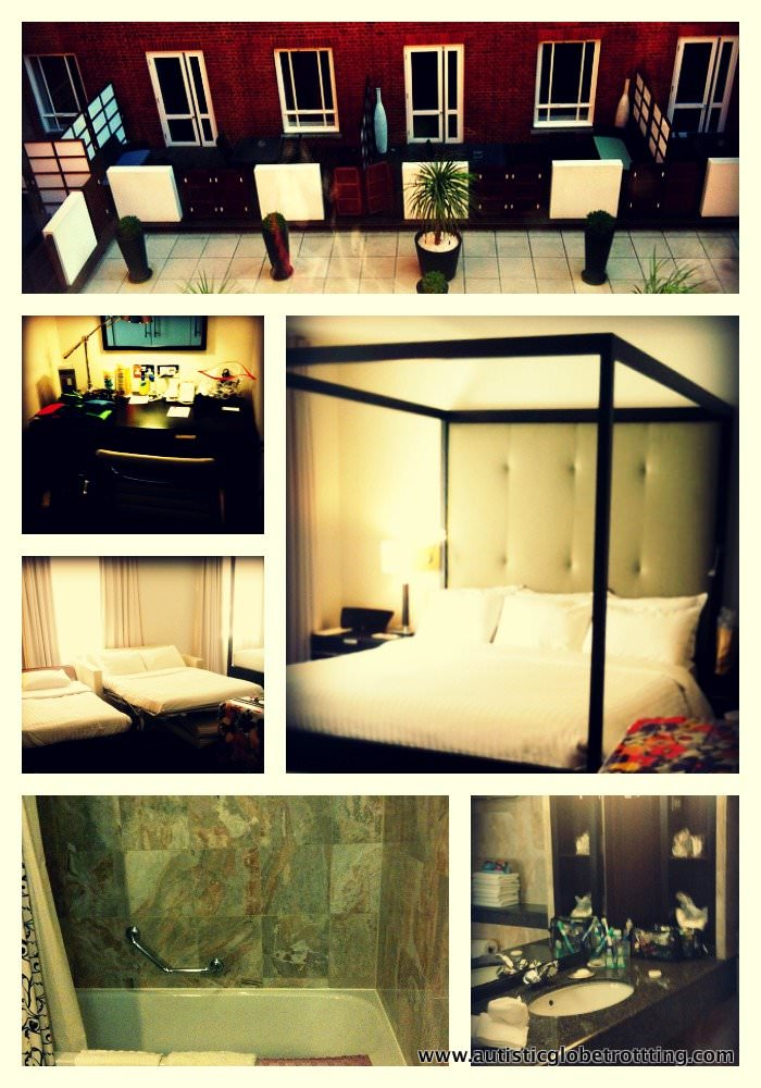 Review of London's Marriott Grosvenor Square Hotel our room