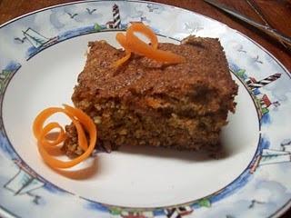 GFCF Carrot Cake