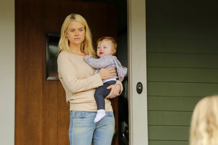 'Please Stand By' depicts Women with Autism in a Positive Light wendy's sister wuith baby