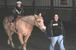 theraputic horseback riding program