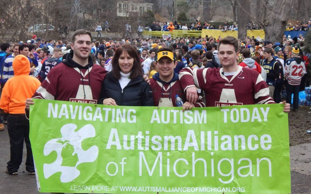 University of Michigan Fraternities and Sororities Raise over $200,000 over 3 Years for Michigan Families Living With Autism