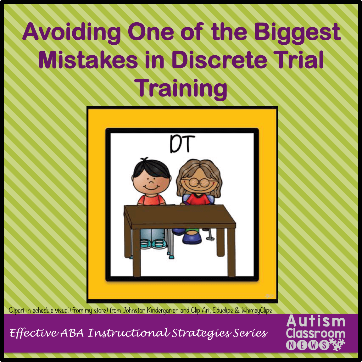 Avoiding One Of The Biggest Mistakes In Discrete Trial