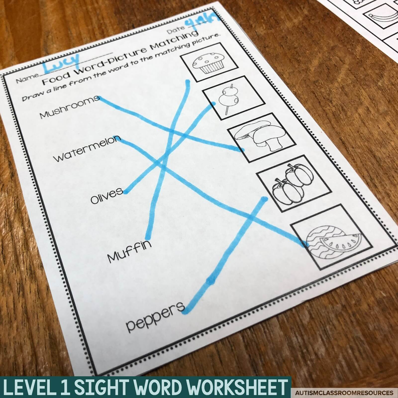 Leveled Worksheets For Functional Reading Instruction