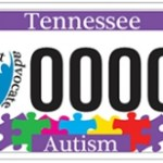 Tennessee Autism Awareness License Plate Project Sells Over 1,000 Plates