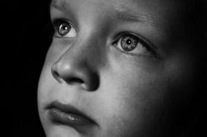 child alone