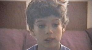 WM Robert as a kid