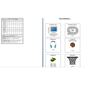 Behavior Management with point sheets and menus