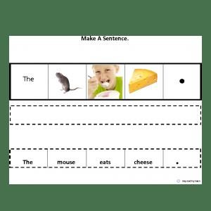 Make A Sentence Original for Autism