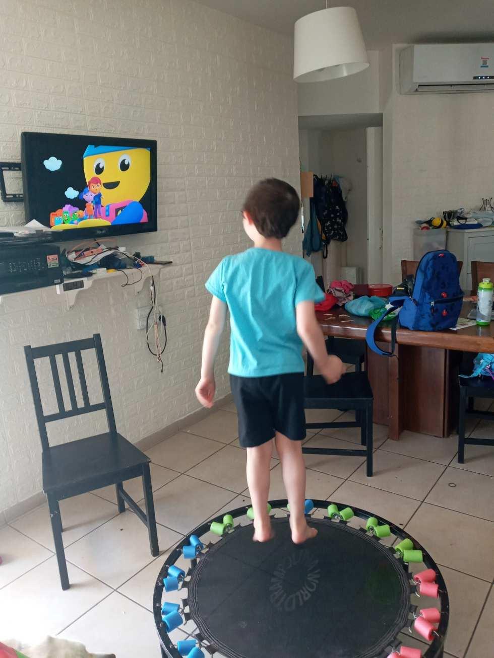 גם תרגילי כושר משחררים את העצירות אצל ילדים עם היפוטוניה