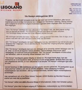 Vis hensyn Legoland