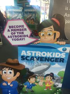 astrokids scavenger hunt activity book