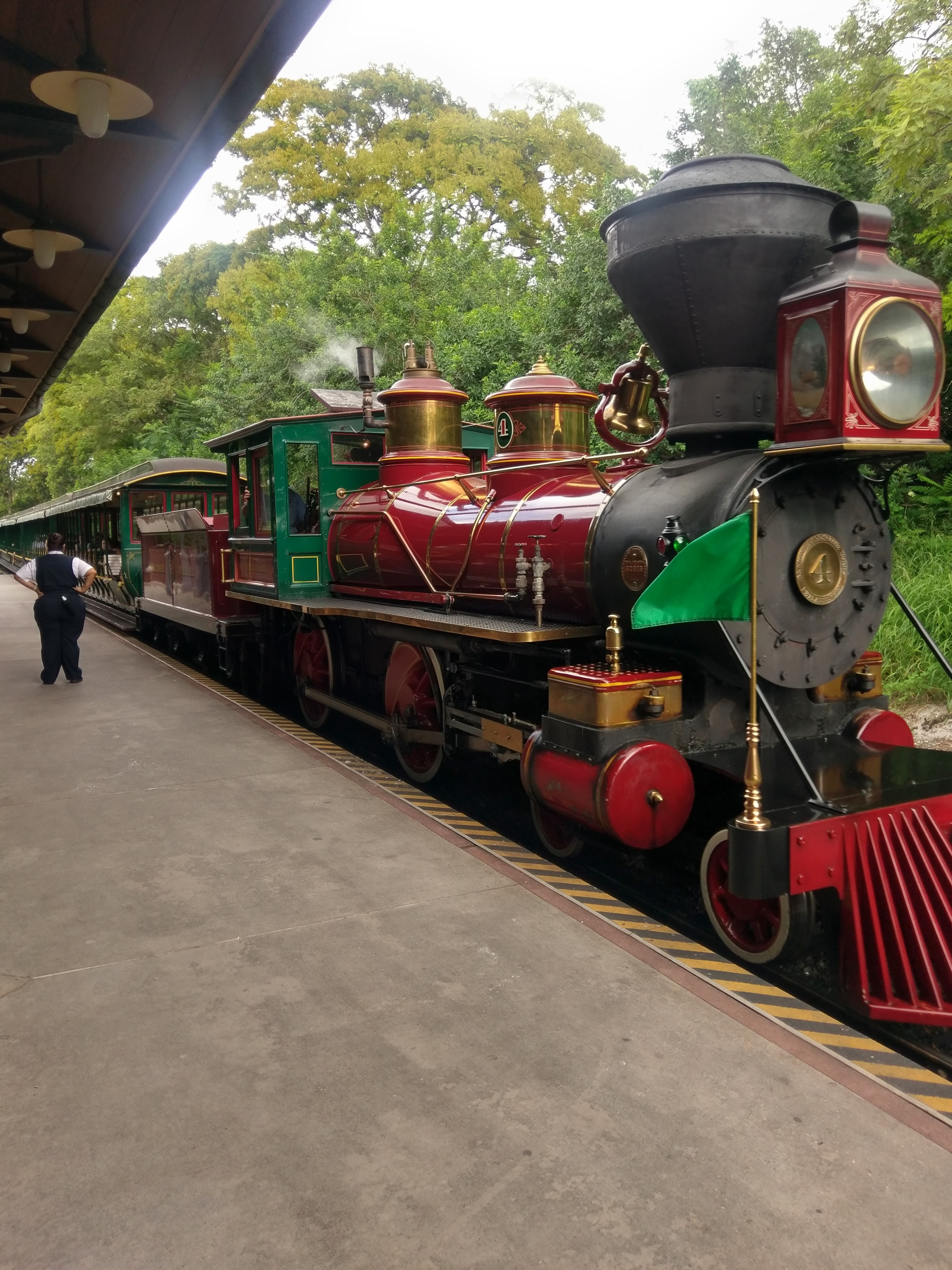 disney world railroad walt orlando outside tour thing see park there leave last first autismkidsontour