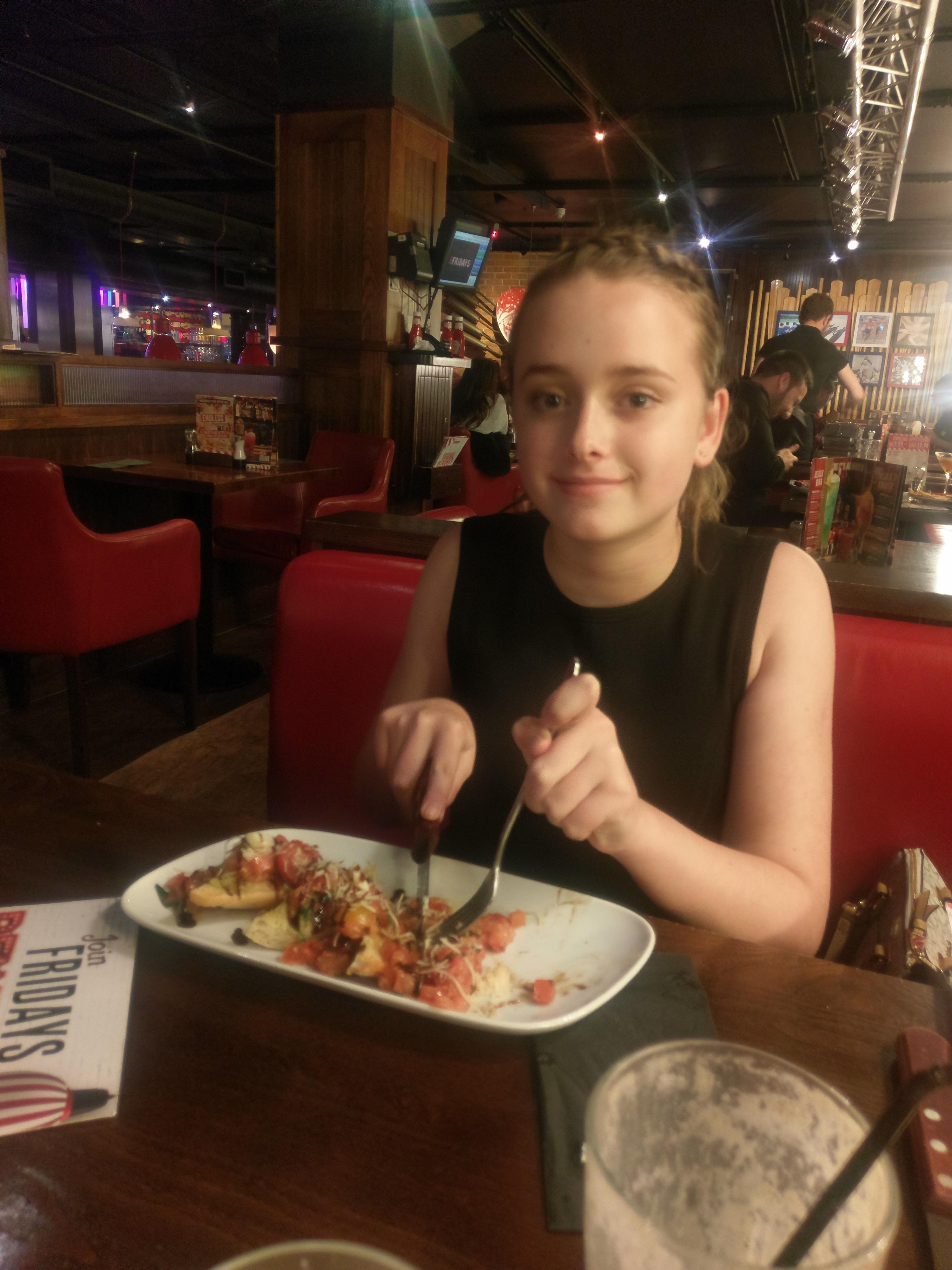 TGI Fridays Endless Appetizers – Autism Kids on Tour