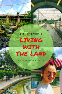 Living with the Land at Disney's Epcot park, Orlando