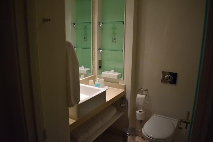 A small bathroom