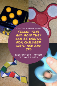 Fidget toys and how they can be useful for children with Autism Spectrum Disorder (ASD) or Sensory Processing Disorder (SPD)